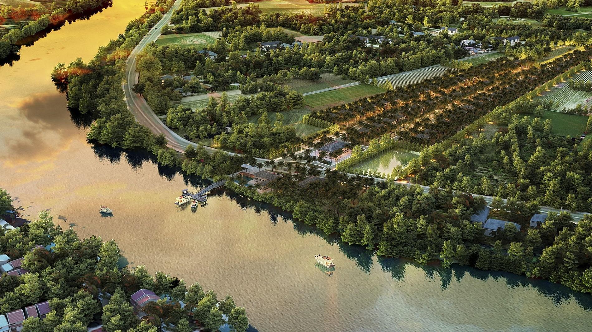 Chủ đầu tư dự án Biệt thự Moon River