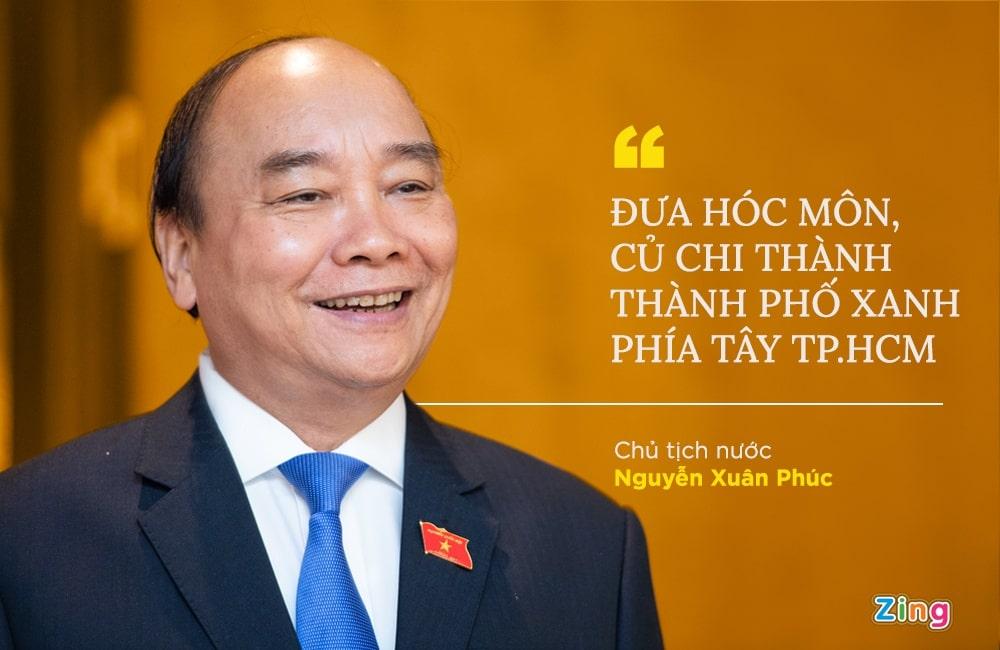 Chủ tịch nước làm Ủy viên Hóc Môn Củ Chi