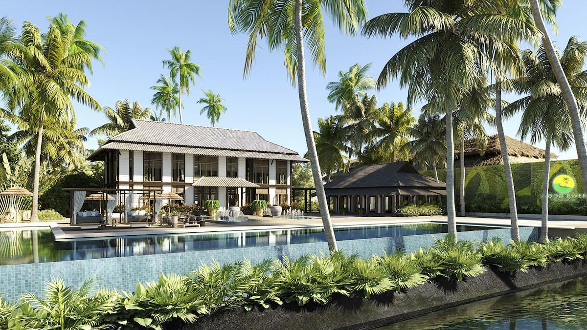 Khách sạn Nhiệt đới tại Moon River Củ Chi